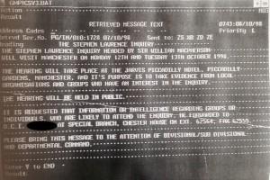 GMP memo, 8 October 1998