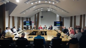 Blacklisting meeting at Holyrood