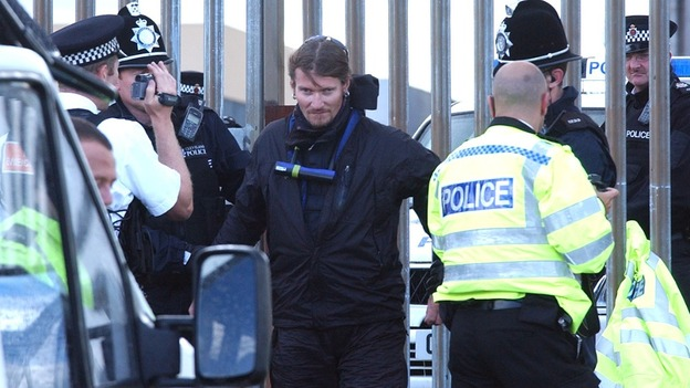 Undercover police officer Mark Kennedy was deployed in Scotland 14 times
