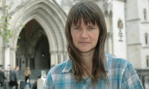 Helen Steel at the Royal Courts of Justice