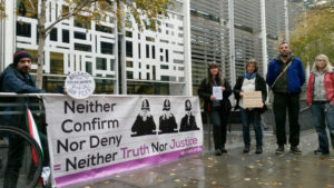 Spycops protest at Home Office, 20 November 2016