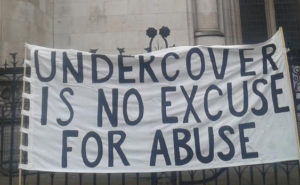 Undercover is No Excuse for Abuse banner