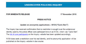 UCPI Carlo Neri announcement