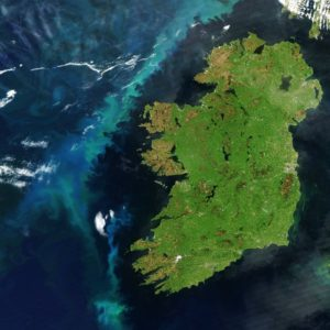 Ireland Satellite Image