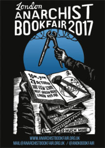 London Anarchist Bookfair 2017 poster