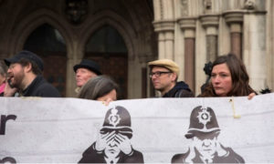 Spycops Campaigners at Inquiry Hearing