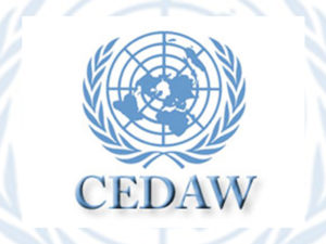 CEDAW logo: UN Committee for the Elimination of All Forms of Discrimination Against Women