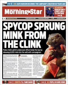 Morning Star front page 21 February 2018