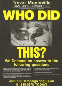Trevor Monervill campaign poster